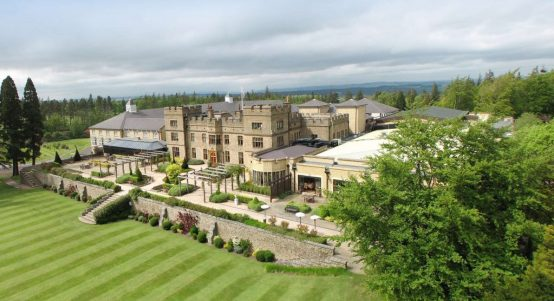 Slaley Hall Aerial View