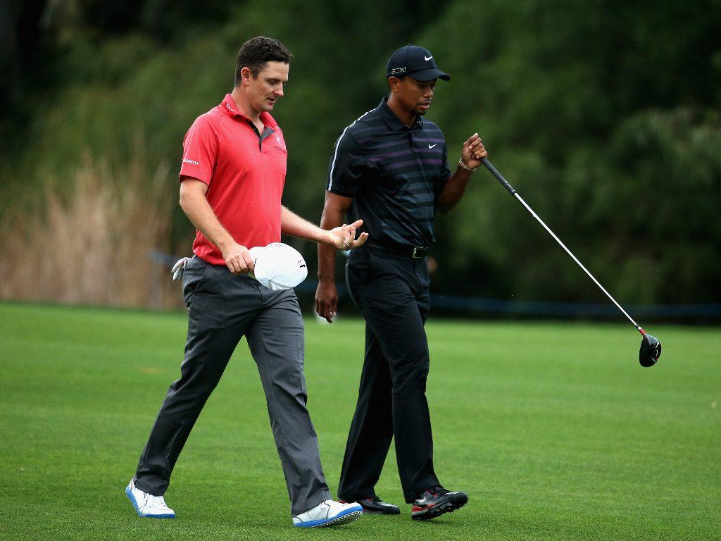 Justin Rose Tiger Woods
