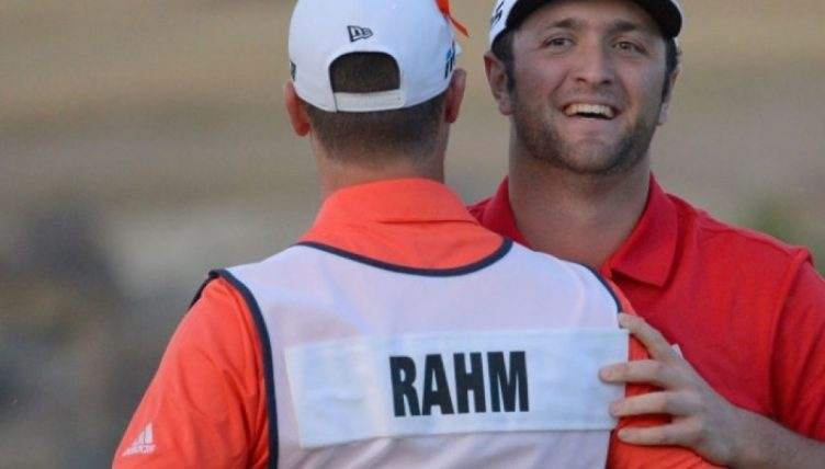 Rahm outlasts Landry in four-hole CareerBuilder playoff