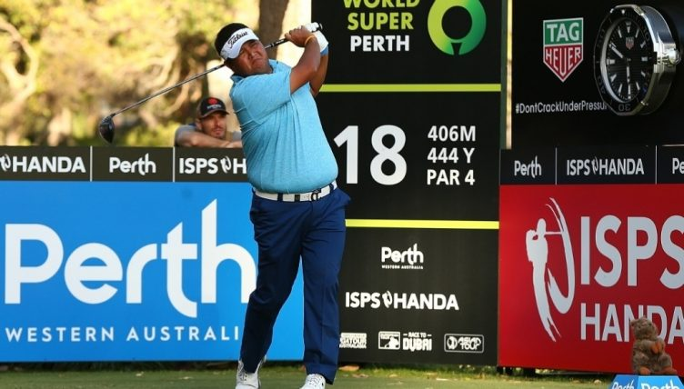 Westwood joins lead at Perth