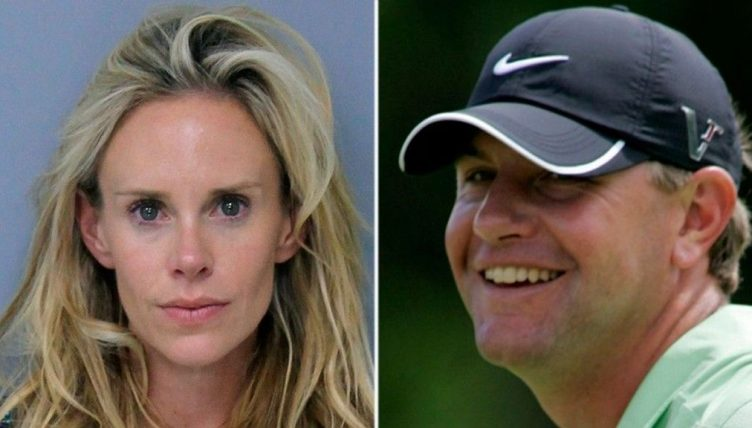 Former US Open champion Lucas Glover's wife arrested on domestic violence charges