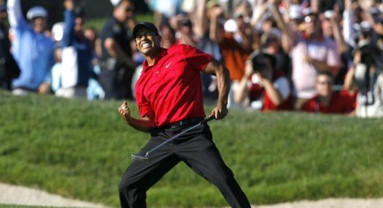 Tiger Woods US Open 2008