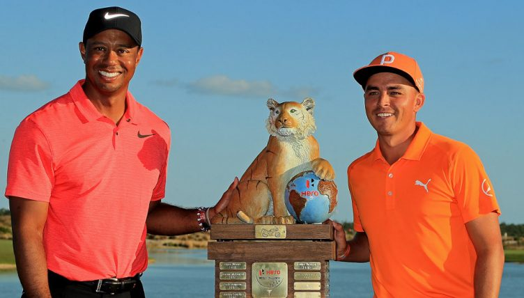 Tiger Woods Rickie Fowler