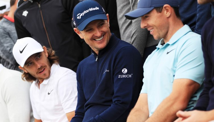 Justin Rose Tommy Fleetwood Rory McIlroy