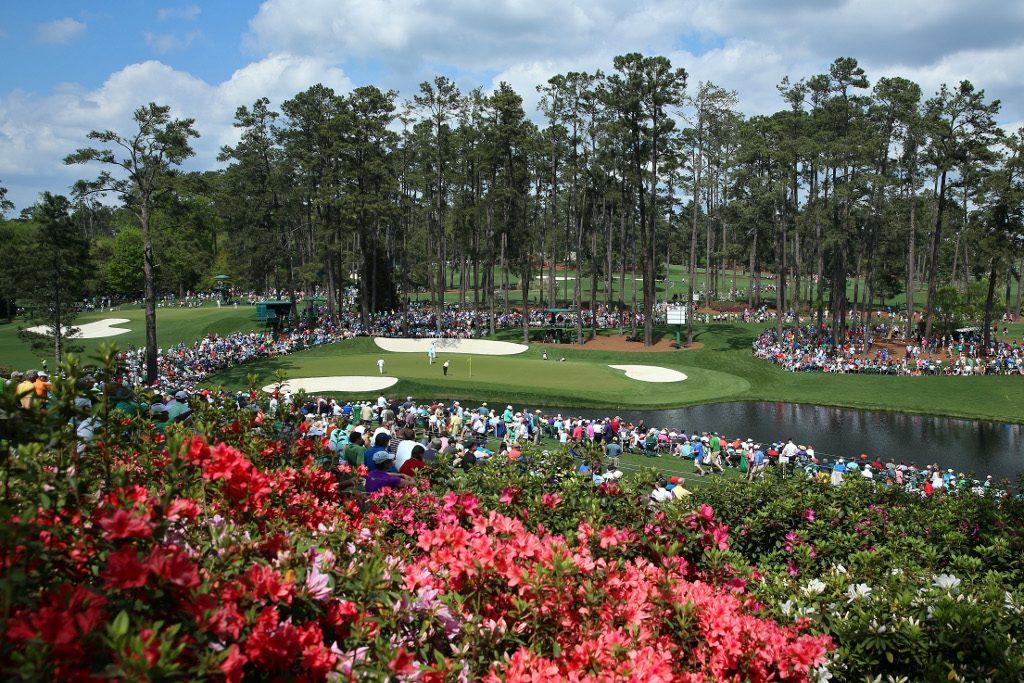 16th hole Augusta