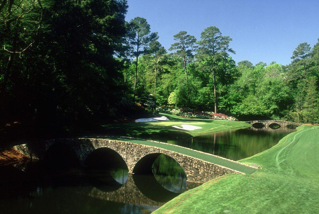 12th hole Augusta Hogan's Bridge