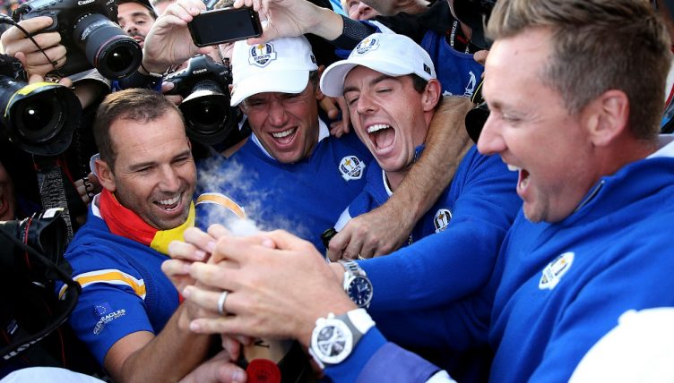 Ryder Cup Europe celebrate