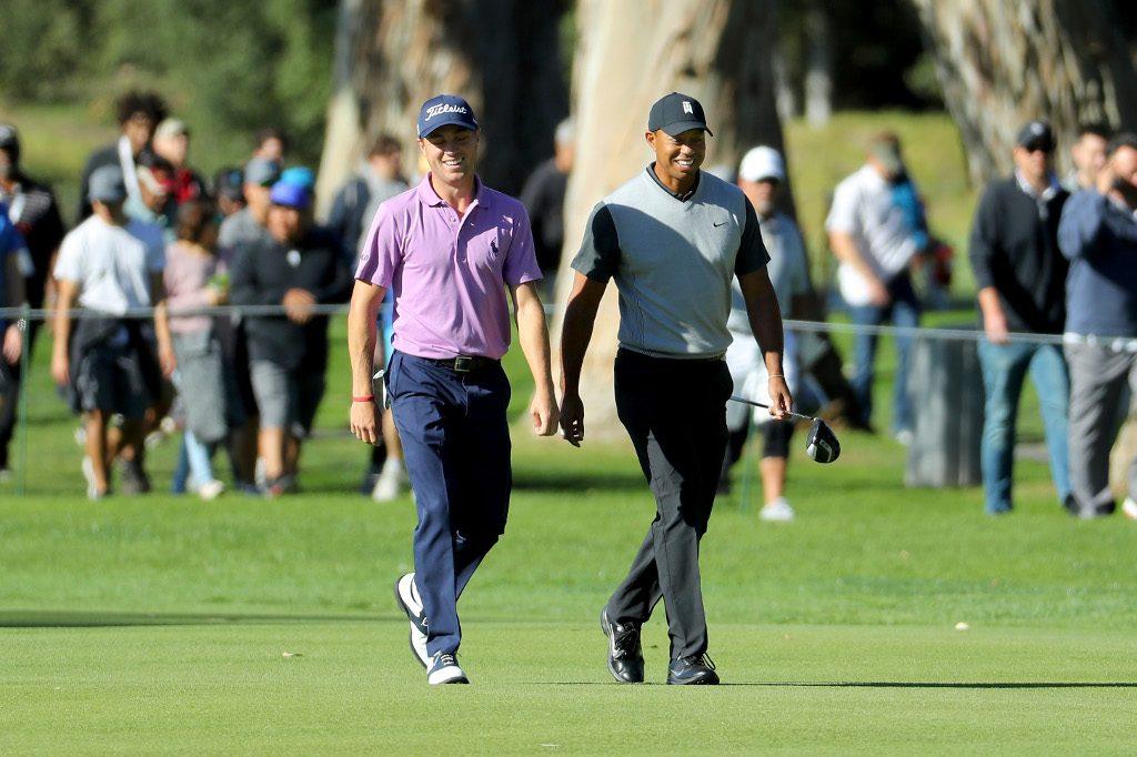 Tiger Woods Justin Thomas