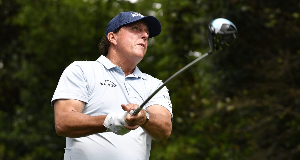 Phil Mickelson on Tour