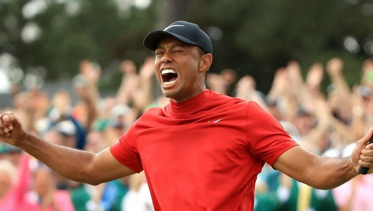 b8a61c2e Historic moment at Augusta as Tiger Woods wins fifth Masters ...