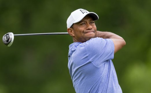 Tiger Woods driving