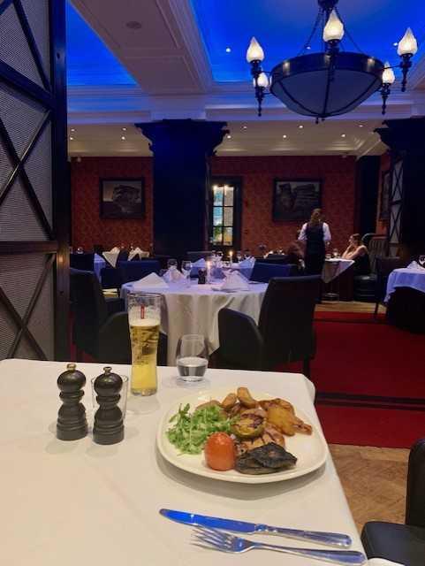 Oulton Hall dinner