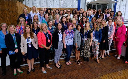 Reach Summit at women's golf event