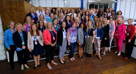 Reach Summit at women's golf event