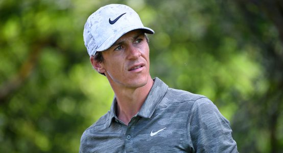 Thorbjorn Olesen looking concerned