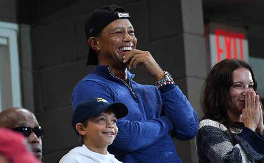 Tiger Woods at US Open