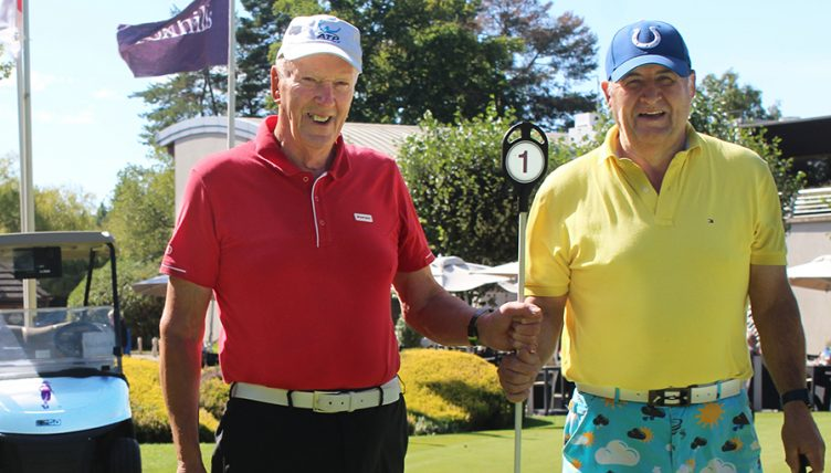 Foxhills hole-in-one duo