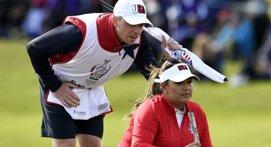 Lizette Salas at Solheim Cup