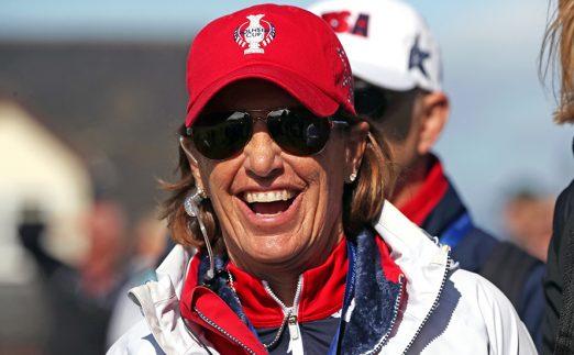 Juli Inkster - US Solheim Cup captain
