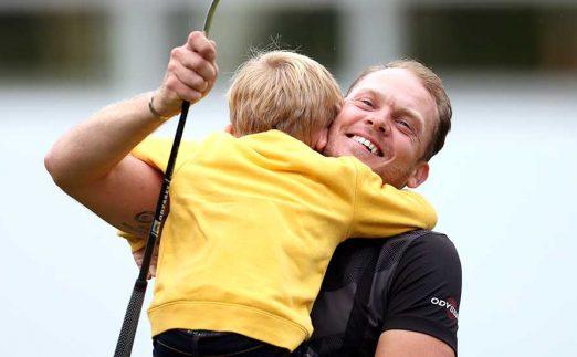 Danny Willett after winning BMW PGA Championship