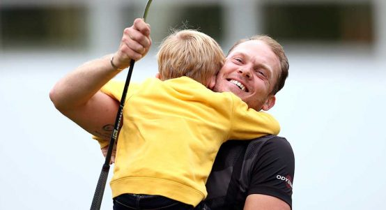Danny Willett after winning BMW PGA Championship