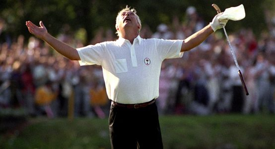 Christy O'Connor Ryder Cup 1989