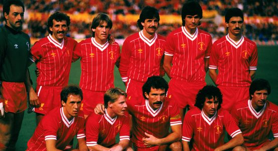 Liverpool FC legends 1984