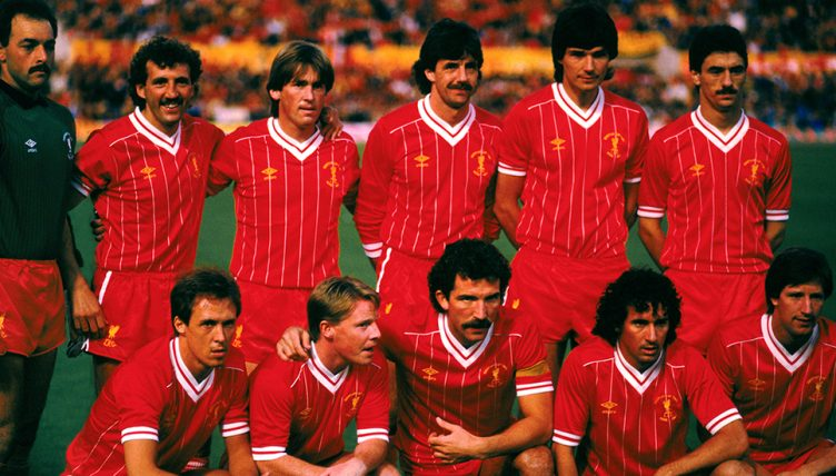 Liverpool FC legends 1984