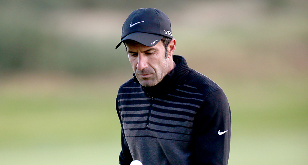 Luis Figo Alfred Dunhill Links