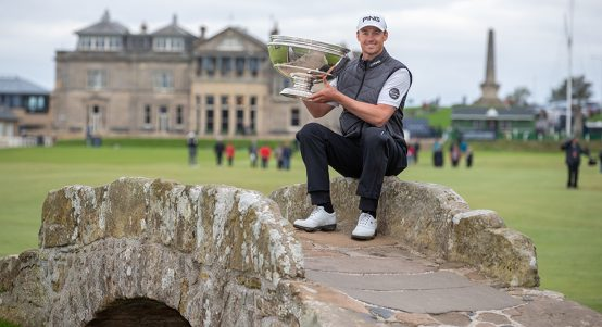 Alfred Dunhill Links wnner Victor Perez