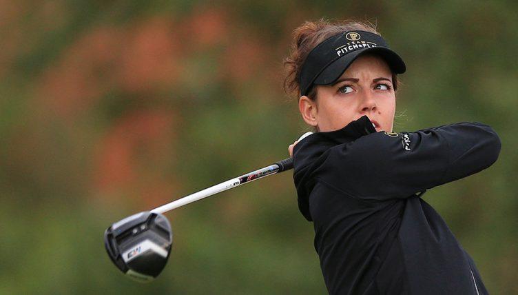 Meghan MacLaren - impressing at Indian Open
