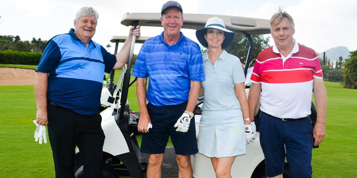 Liverpool legend Ronnie Whelan at La Manga Club golf