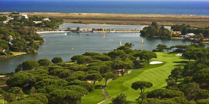 Quinta do Lago South Course - 16th hole aerial view resize