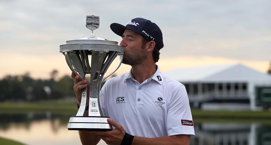 Lanto Griffin with Houston Open title - hist first PGA Tour crown