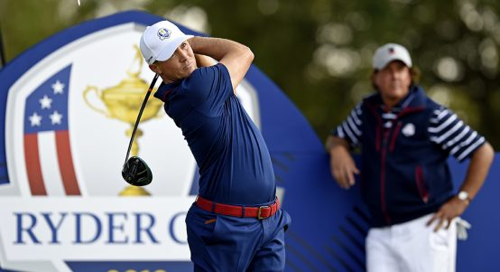 Alex Noren at Ryder Cup