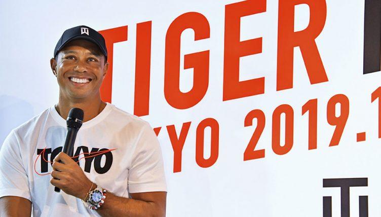 Tiger Woods in Tokyo