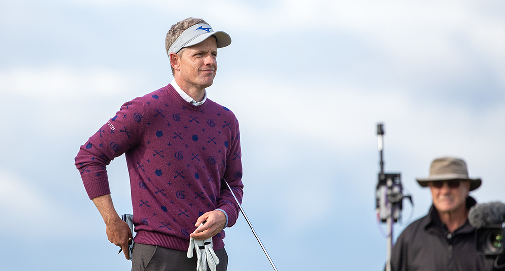 Luke Donald at Alfred Dunhill Links