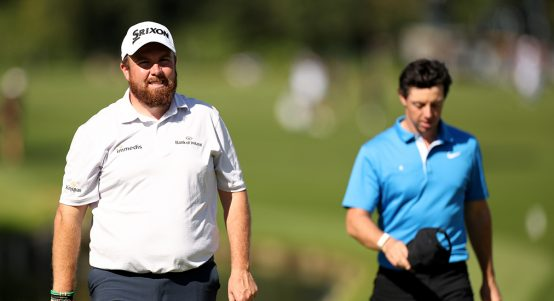 Rory McIlroy and Shane Lowry