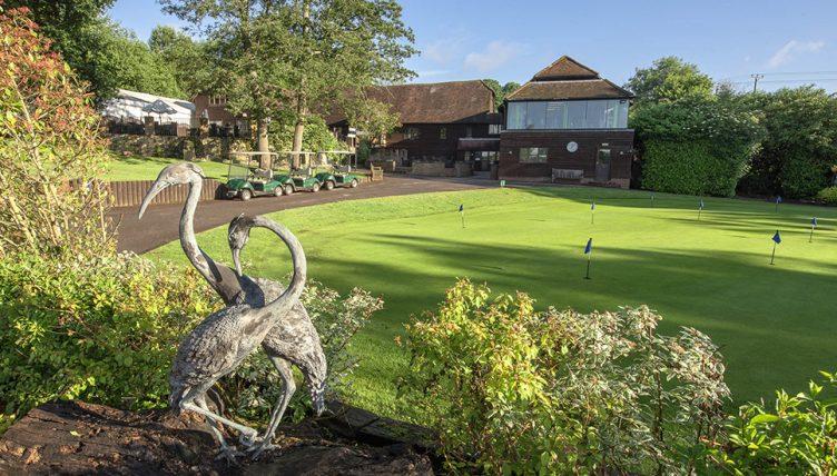 Cranleigh golf clubhouse