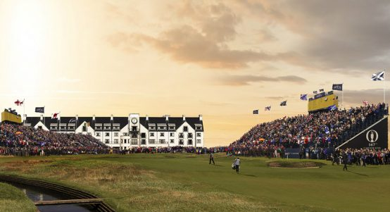 The Open Hero Carnoustie Golf Links