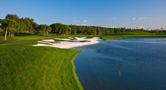 Laranjal 11th hole quinta do lago
