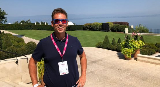 golf holidays expert sean gay Photo at Evian
