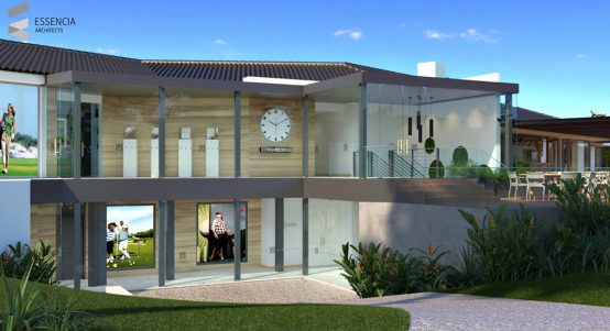 Clubhouse - artist impressions quinta do lago