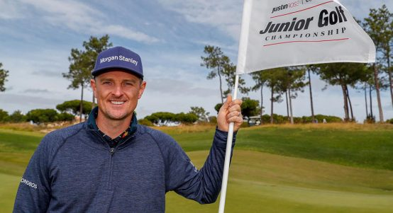 Justin Rose at Quinta do Lago