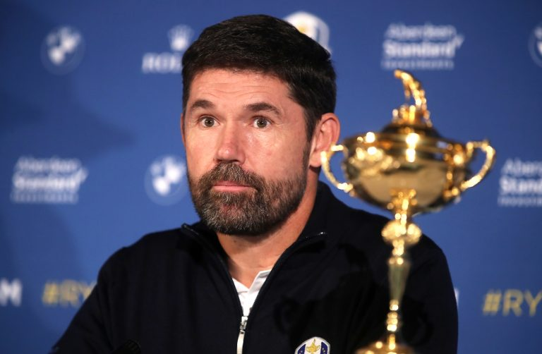 European Ryder Cup captain Padraig Harrington said postponing the event was the right decision