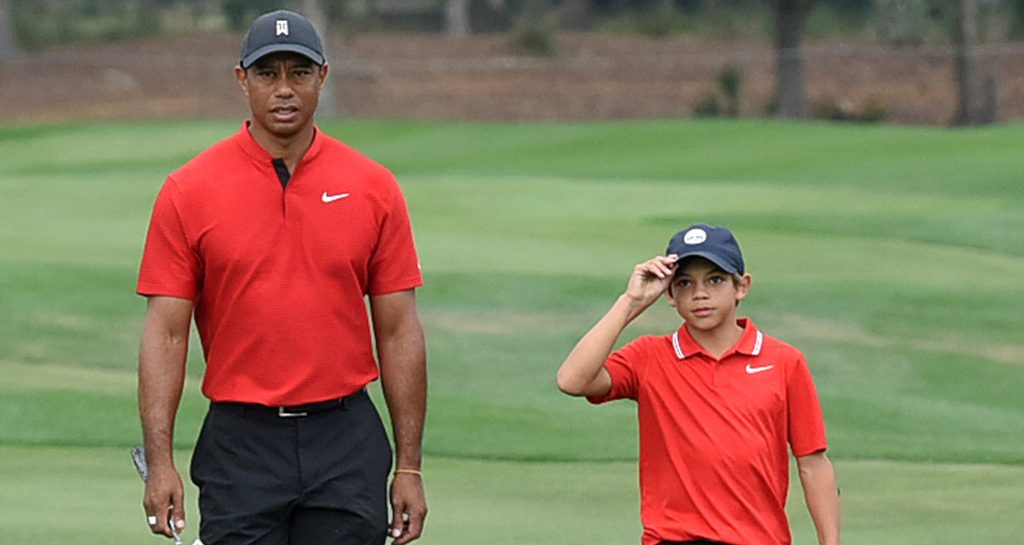 Tiger Woods And Son Charlie Finish Seventh In Pnc Championship Golf365