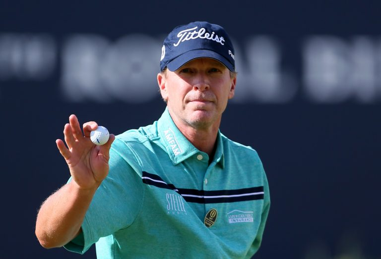 US captain Steve Stricker, pictured, said he is rooting for Mickelson