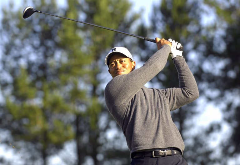 It was Woods' fourth US PGA Championship title (Rebecca Naden/PA).